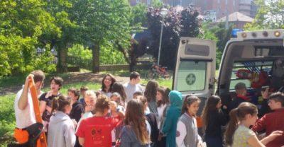 Croce Bianca Milano sez. Giussago - i corsi di primo soccorso per le scuole