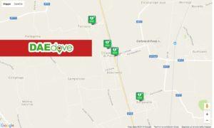 Defibrillatori Croce Bianca Giussago - DAE DOVE