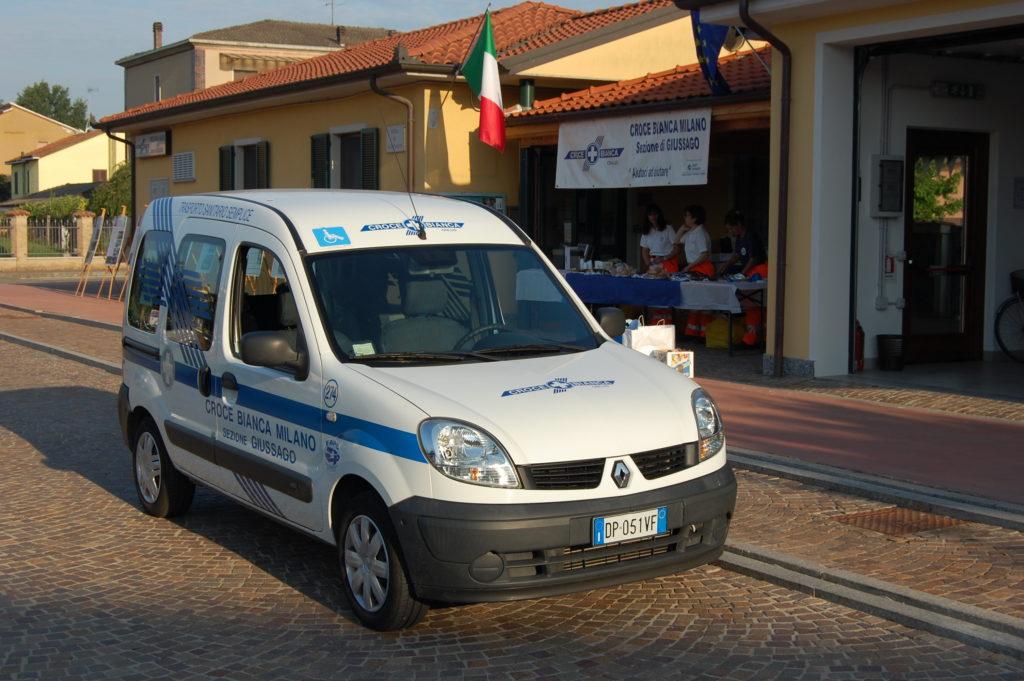Croce Bianca Milano sez. Giussago - il nostro parco automezzi 274