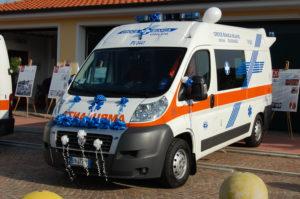 Il parco automezzi Croce Bianca Giussago - Fiat Ducato 2012 - 275