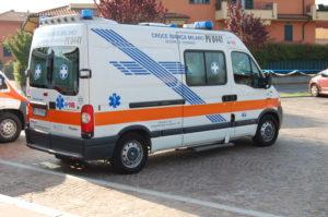 Il parco automezzi Croce Bianca Giussago - Renault Master 2006 - 275