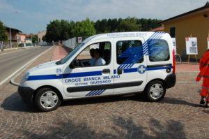 Il parco automezzi Croce Bianca Giussago - Renault Kangoo 2008 - 274
