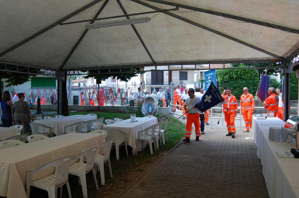 Croce Bianca Milano sez. Giussago - la festa dei 10 anni di sezione