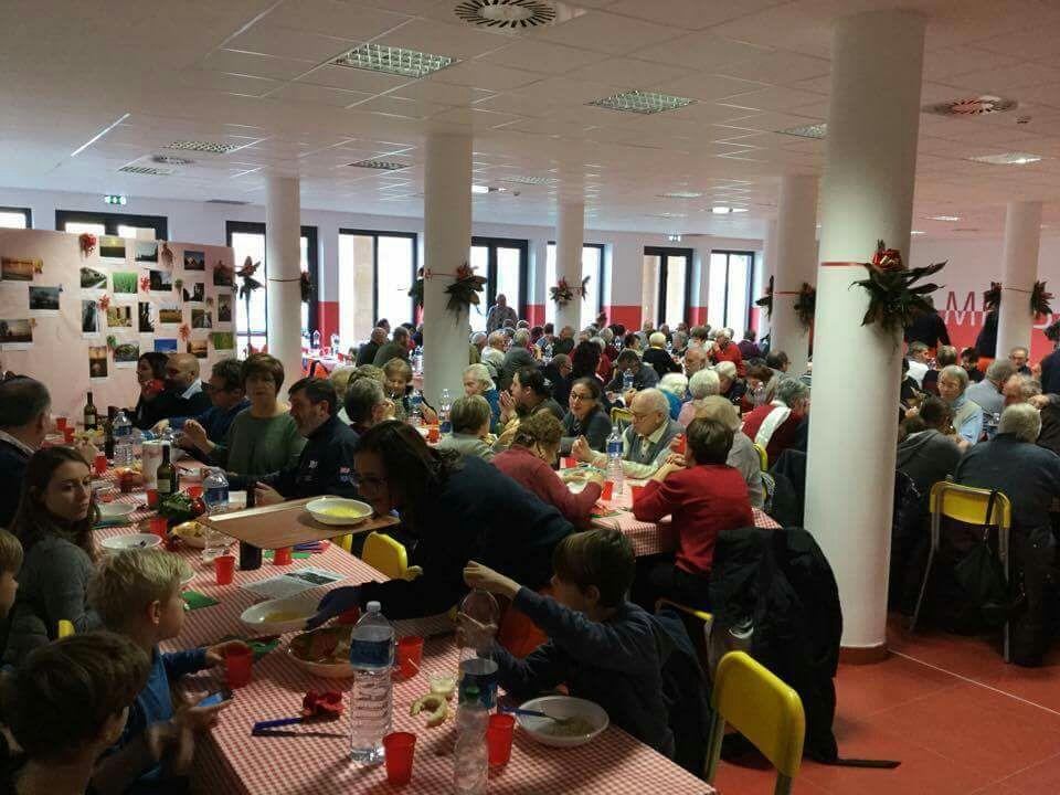 pranzo anziani 2016 Giussago