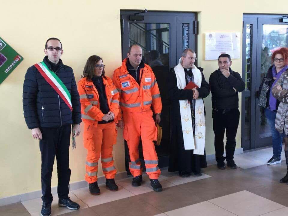 Inaugurazione DAE scuole Giussago