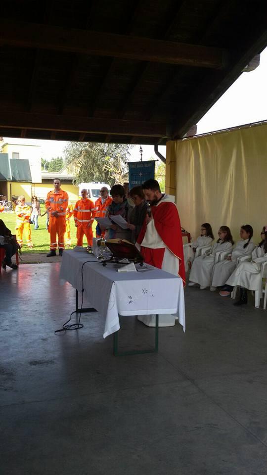 Inaugurazione DAE oratorio Certosa