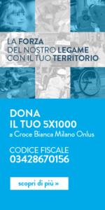 5x1000 Croce Bianca Milano