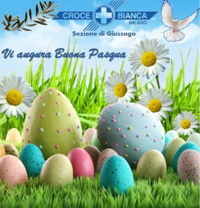 Buona Pasqua da Croce Bianca Milano sez. Giussago