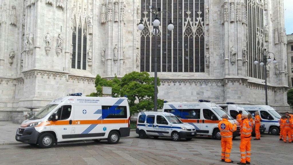 Servizio Milano Duomo - Madonna pellegrina di Fatima