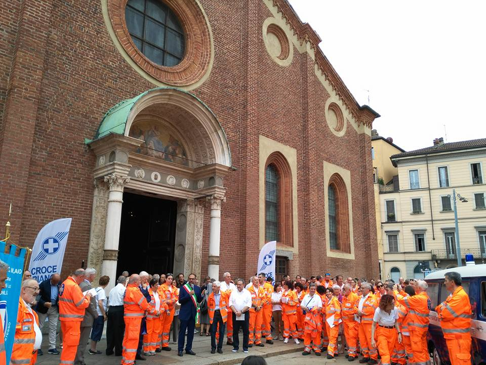 110 Anni Croce Bianca Milano