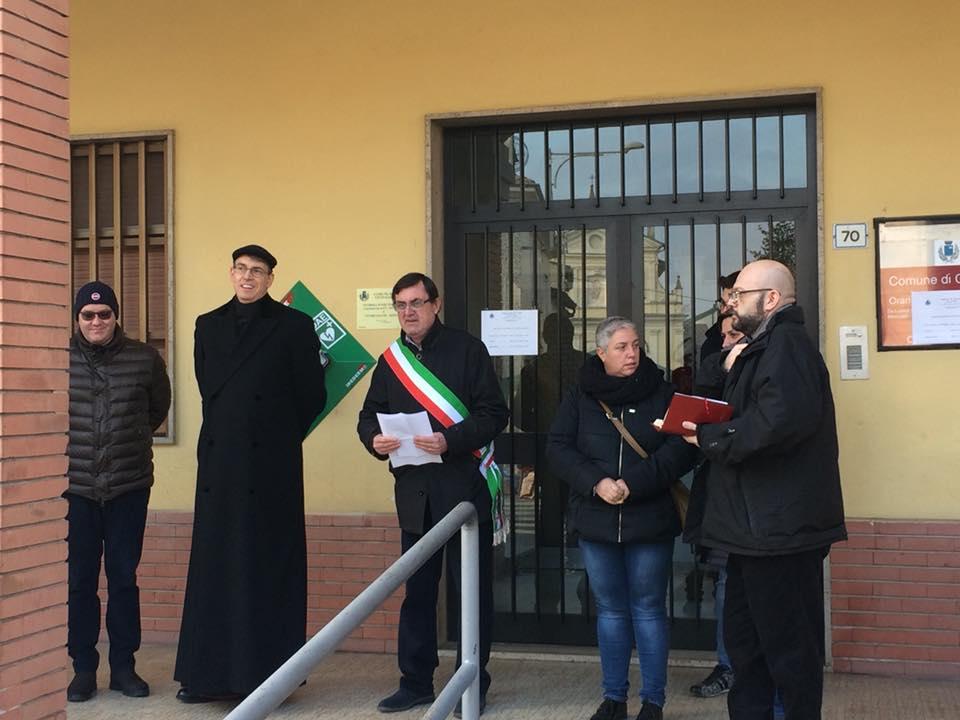 inaugurazione DAE comune Giussago