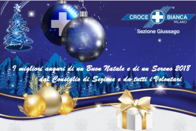 auguri 2018 Croce Bianca Giussago