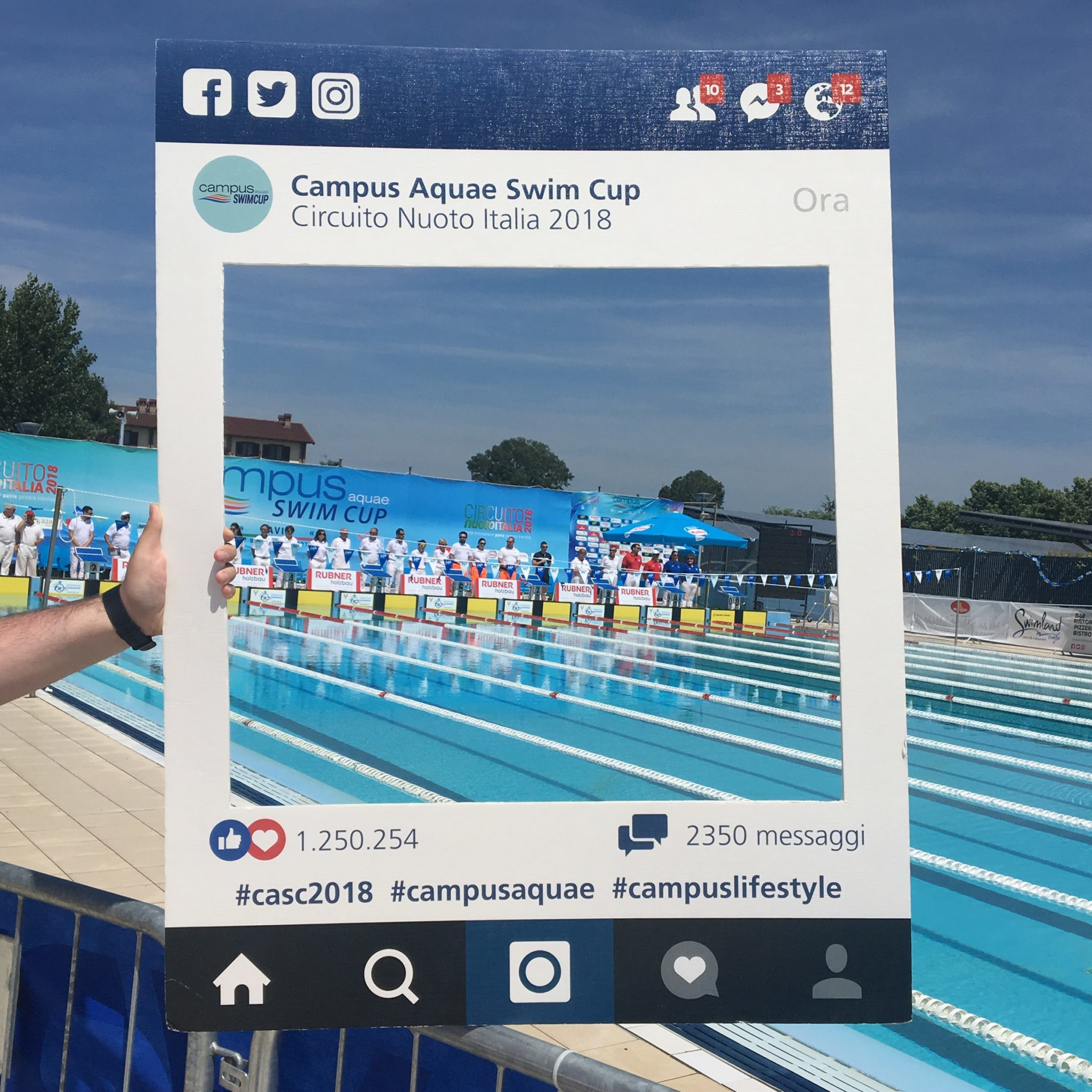 Campus Acquae swim cup 2018