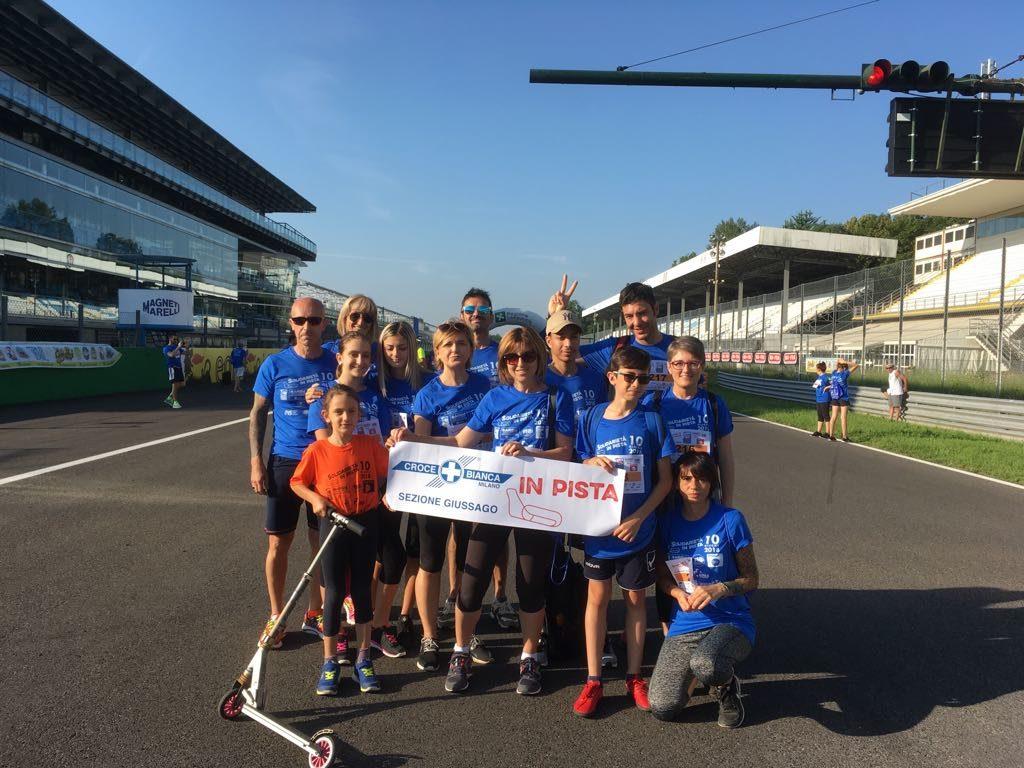 Corsa in pista a Monza