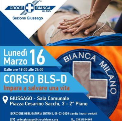 Corso defibrillatore Giussago